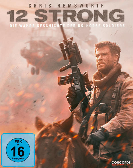 Blu-ray Abenteuer- & Actionfilme - 12 Strong (Exklusiv Limited SteelBook®) [Blu-ray]