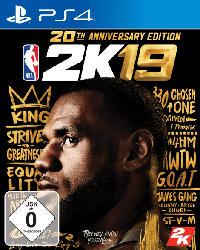 PlayStation 4 Spiele - NBA 2K19 (20th Anniversary Edition) [PlayStation 4]