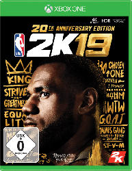 Xbox One Spiele - NBA 2K19 (20th Anniversary Edition) [Xbox One]
