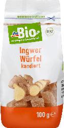 dmBio Trockenobst Ingwer-Würfel kandiert
