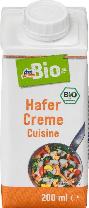 dmBio Creme Cuisine, Hafer