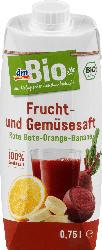 dmBio Frucht- & Gemüsesaft rote Bete, Orange & Banane