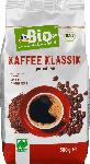 dm-drogerie markt dmBio Kaffee Klassik, gemahlen, Naturland