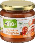 dm-drogerie markt dmBio Sauce, vegetarische Bolognese Sauce