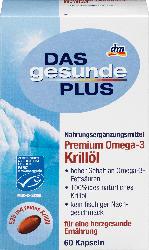 DAS gesunde PLUS Premium Omega-3 Krillöl Kapseln