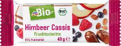 dmBio Fruchtschnitte Himbeer & Cassis