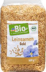 dmBio Leinsamen, gold