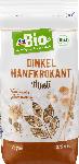 dm-drogerie markt dmBio Müsli, Dinkel & Hanfkrokant