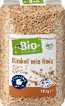 dm-drogerie markt dmBio Getreide, Dinkel wie Reis, demeter