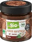 dm-drogerie markt dmBio Aufstrich, Kokos Aufstrich mit Kakao, Naturland