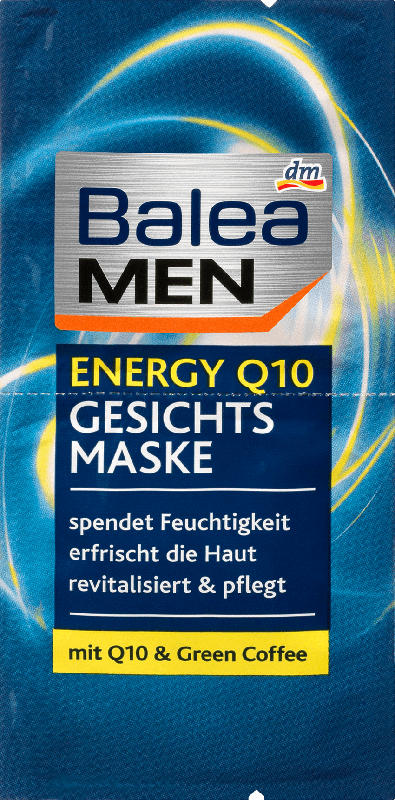Balea MEN Maske Energy Q10