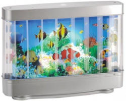 Aquariumleuchte Motiv Fische