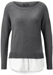 Feinstrick-Pullover im Lagen-Look