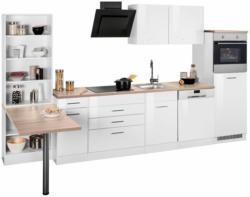 HELD MÖBEL Küchenzeile ohne E-Geräte »Wels«, Breite 350 cm