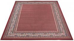 Teppich orientgemustert ca. 80 x 150 cm rot