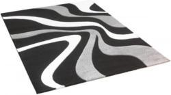 Teppich Diamond ca. 160 x 230 cm schwarz