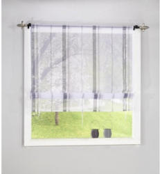 Bändchenrollo Lottie, grau, ca. 120 x 140 cm