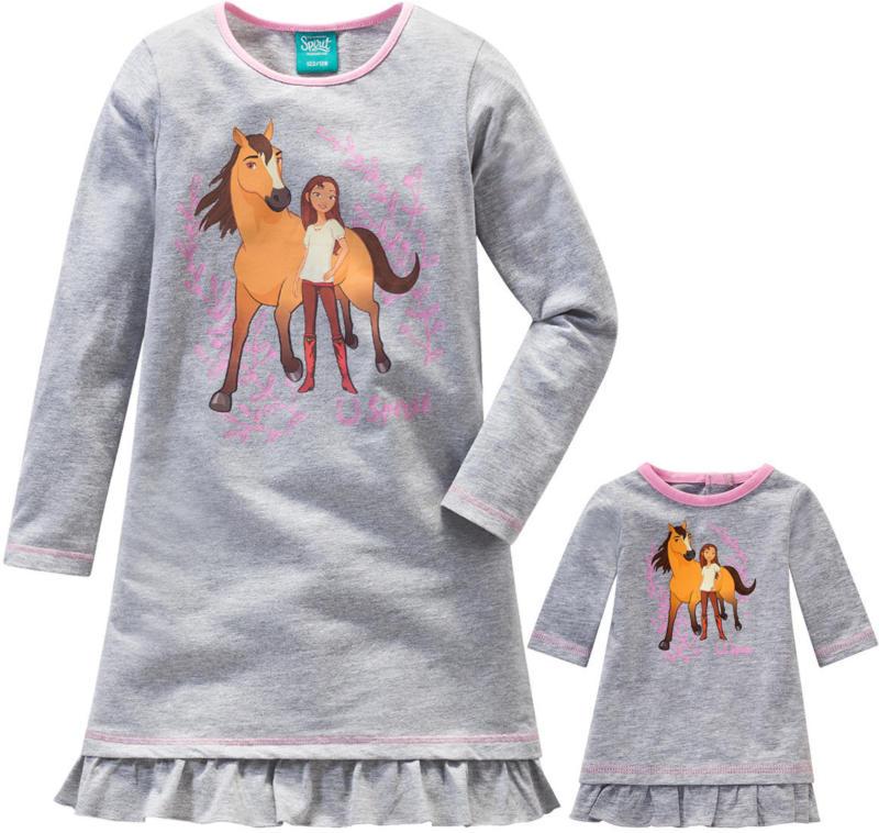 Spirit Nachthemd mit Puppennachthemd