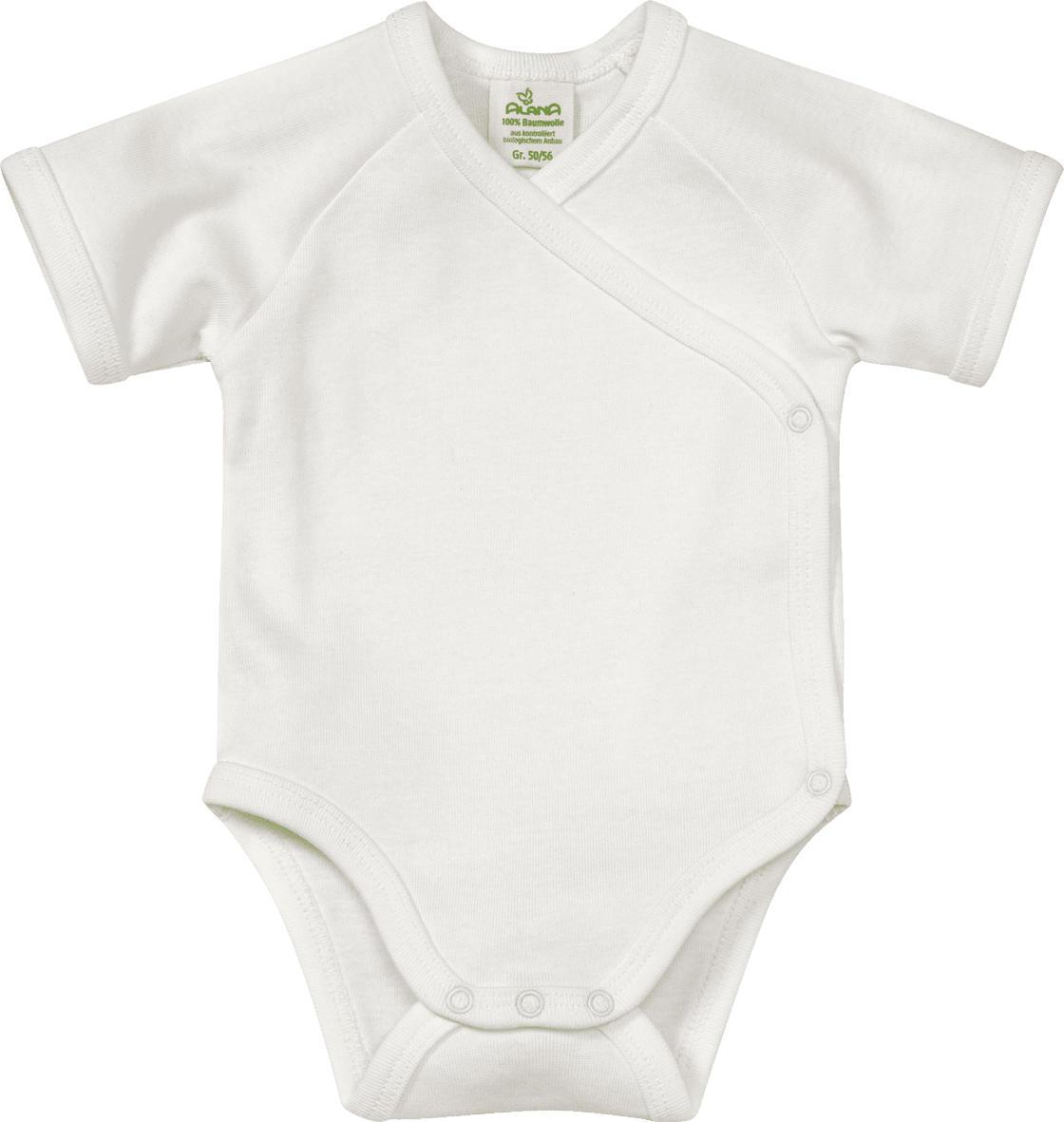 96673950ae6df ALANA Baby-Wickelbody, Gr. 50/56, in Bio-Baumwolle, natur, für ...