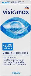 VISIOMAX Monatslinse Dioptrie  -3,25