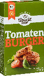 dm-drogerie markt Bauckhof Trockenmischung für Tomaten-Burger mit Basilikum, glutenfrei