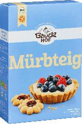 Bauckhof Backmischung für Mürbteig, glutenfrei