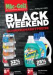 MÄC GEIZ Black Friday Angebote KW47 - bis 25.11.2018
