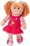 NORMA Heless Mädchen-Puppe, klein Stoffpuppe Neli, ca. 32 cm