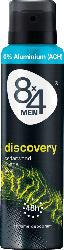 8x4 men Deo Spray Deodorant Discovery