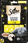 dm-drogerie markt Sheba Snack für Katzen, Creamy Snacks mit Huhn, 4x12g