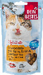 dm-drogerie markt Dein Bestes Snack für Katzen, Knusper-Mix mit Huhn und Cranberries