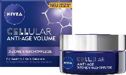 NIVEA CELLular Anti-Age Volume 3-Zonen Aufbau Nachtcreme
