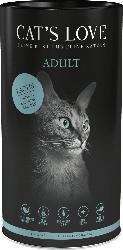 CAT'S LOVE Trockenfutter für Katzen, Adult, Lachs