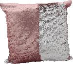 dm-drogerie markt Dekorieren & Einrichten Kissen mit Pailletten  rosa-silber