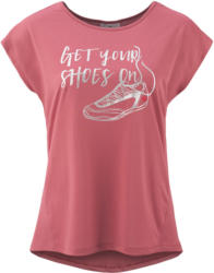Damen Sport-T-Shirt mit Message-Print