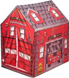 Kinderspielzelt im Feuerwehr-Dessin