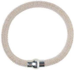 Metallic Armband mit Magnet