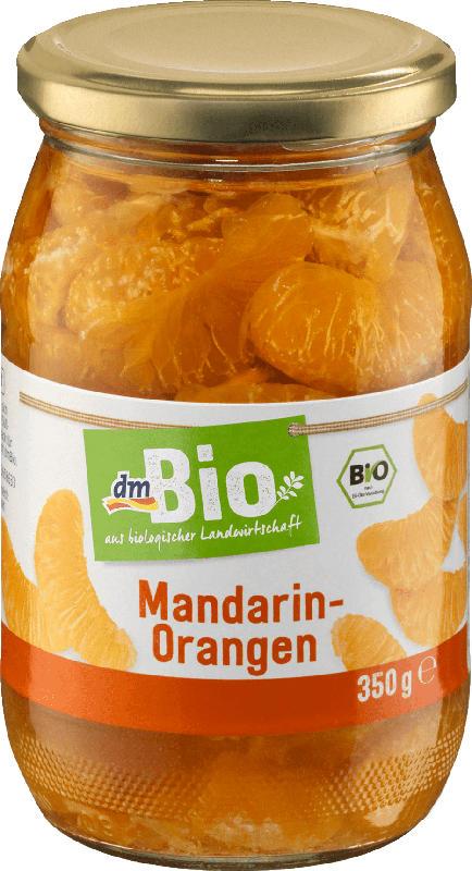 dmBio Mandarin-Orange im Glas