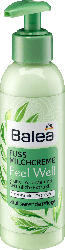 Balea Fußcreme Milch Feel Well