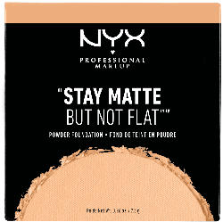 NYX PROFESSIONAL MAKEUP Make-Up Stay Matte But Not Flat Powder Foundation Soft Beige 05