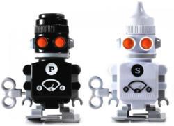 """SUCK UK Salz- & Pfefferstreuer """"Bots"""""""