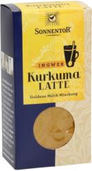 Sonnentor Kurkuma-Latte Ingwer - Packung, 60 g