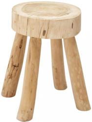 Hocker In Holz Naturfarben