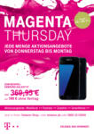 Telekom Magenta Thursday - bis 26.11.2018