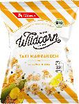 dm-drogerie markt Wildcorn Popcorn, Taxi Marrakech, salziges Popcorn mit Curcuma & Zitrone