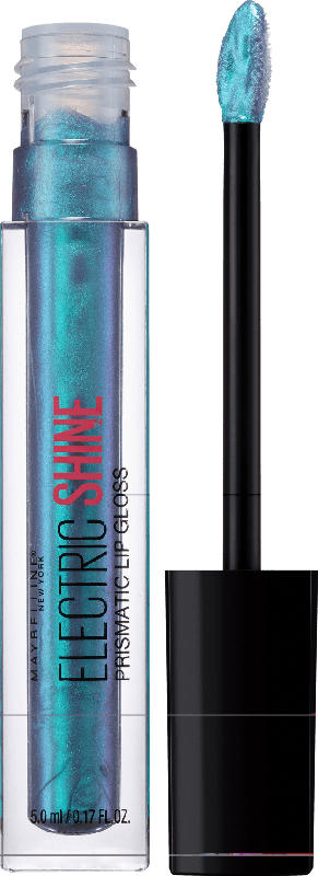 Maybelline New York Lipgloss Holographic Gloss Electric Blue165