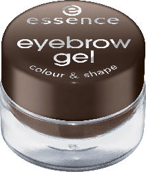 essence cosmetics Augenbrauengel eyebrow gel colour & shape brown 01