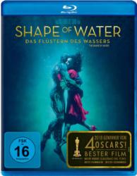 Blu-ray Drama - Shape of Water: Das Flüstern des Wassers [Blu-ray]