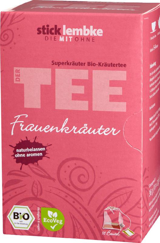 Stick & Lembke Kräutertee, Frauenkräuter (18x2g)