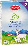 dm-drogerie markt Töpfer Bio Folgemilch 2 auf Ziegenmilchbasis nach dem 6.Monat